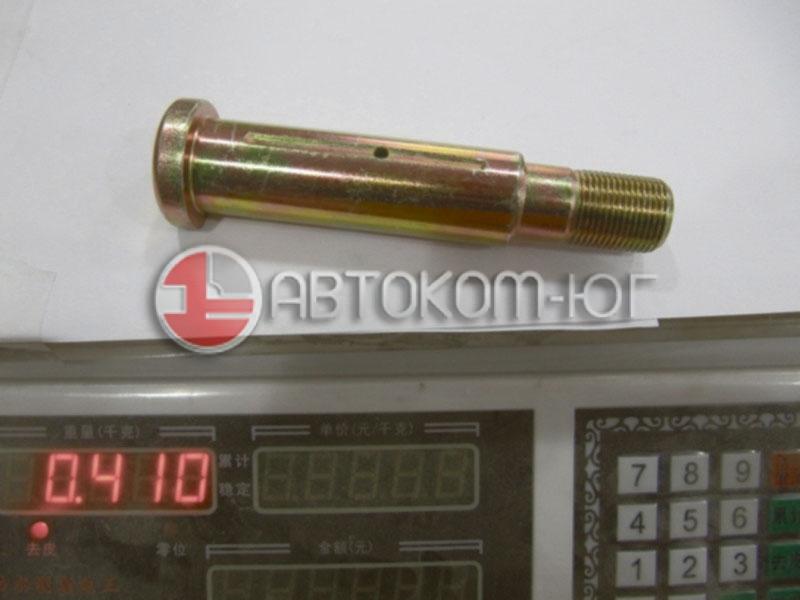 Палец ушка задней рессоры Фотон-1049С (диам 30мм, диам резьбы 20мм, L= 125мм) 1104929500006
