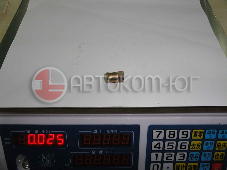 Пробка сливная с блока цилиндров Фотон-1049C E049302000009