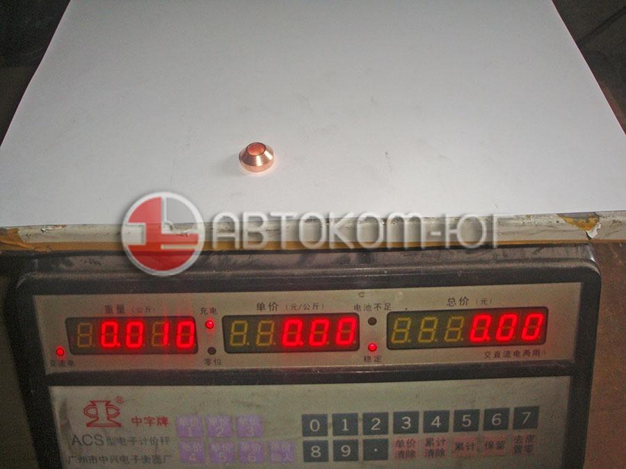 Шайба форсунки Фотон-1039 медная,конусная, Е049332000003